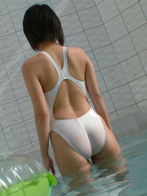 Asian Asian Swimsuit Twenty Five White..