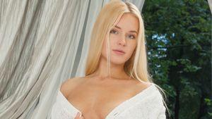 blonde, Green Eyes, Xena (model)..
