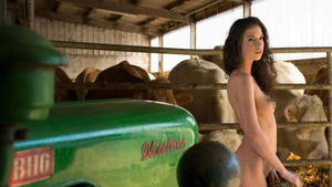 Farm Workers Strip Off For Steamy..