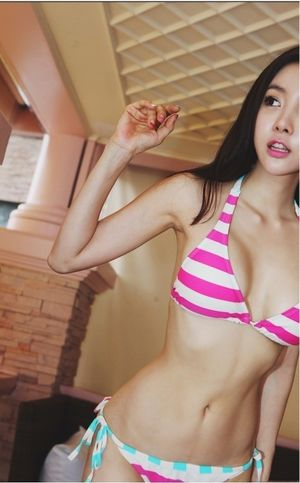 Skinny Korean Bikini Girl - Free Porn..