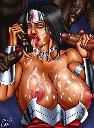 Rule 34 pt.10: Wonder Woman Hentai..