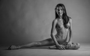 Скачать обои nude, dancer,..