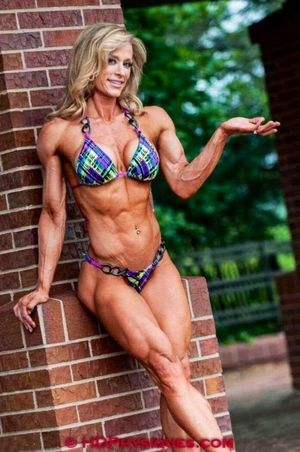 Nude athletic mature women -..
