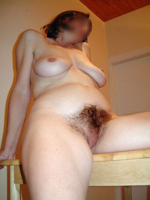 My hairy pussy under transparent..
