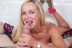 Horny milf Dani seduce the boyfriend..