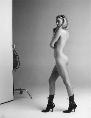Chloe Sevigny, nude in Black and white..