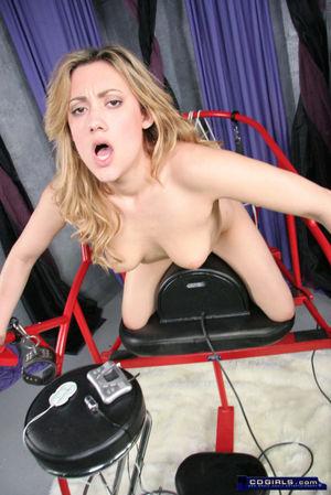 Gwen sybian straddle orgasms - free HD..