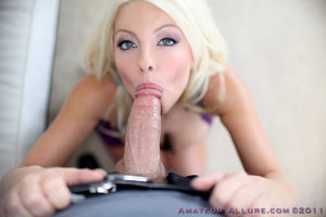 Chesty Amber Swallows Cum Free Gallery..
