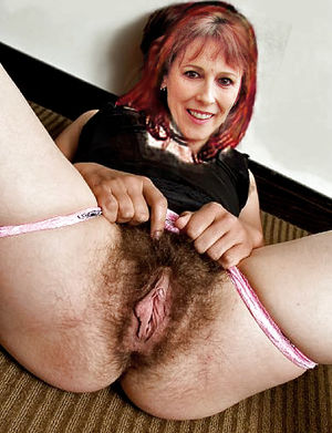 Beautiful kinky lady shows very hairy..