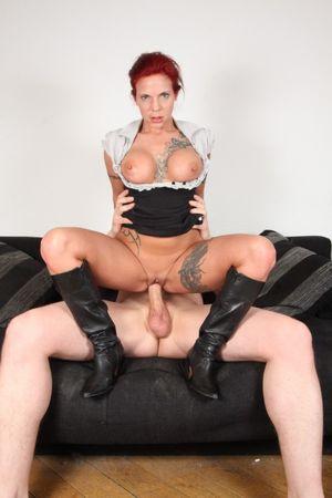 German chick Mia De Berg gets banged..