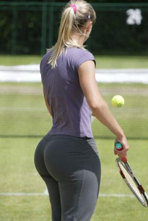 Tennis Player Big Butt Curvy Girls..