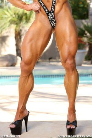 5 Muscle Pornstars