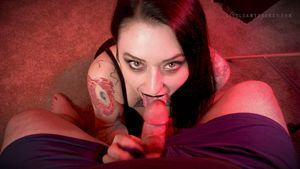Amy Pocket Blowjob - Goth Girlfriend..