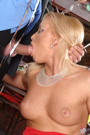 Kathia Nobili - Hot Blowjob Blonde..