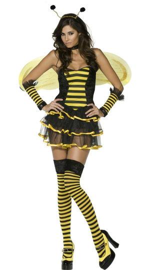 Sexy Honey Bee Costume N5844