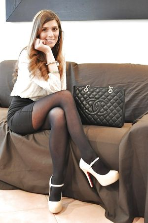 Stockings ,tights and high heels 68 -..