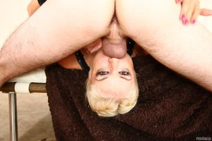 Braided blonde beauty gets mercilessly..
