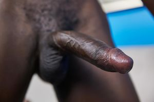 Hot black college stud Van shows..