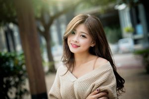 Download wallpaper look, girl, smile,..