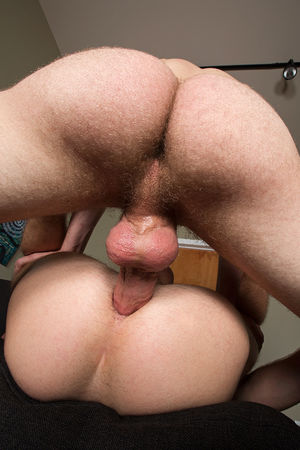 Big and slick bareback dick fucks a..