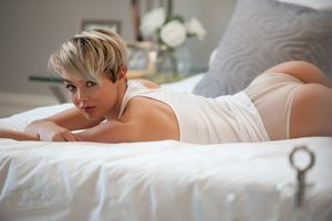 #women, #Rosie Robinson, #short hair,..