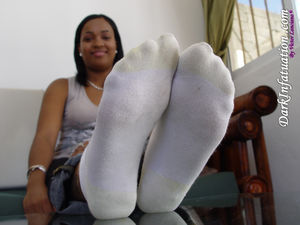 Black Girl Socks and soles 3 upskirtporn