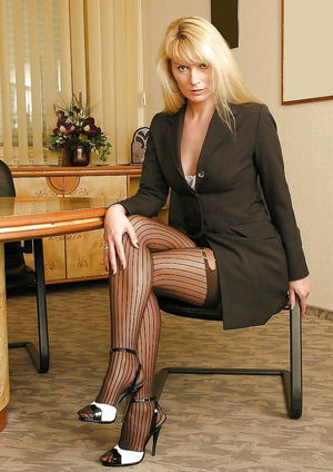 Stockings ,tights and high heels 87..