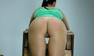 Naughty college girls spanked -..