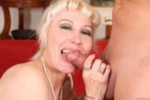 Lusty pale mature honey Dalny Marga..