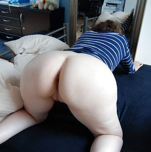 Sexy Big Round Ass - Mature Butt -..