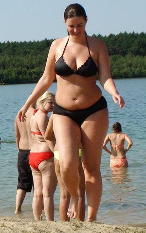 Chubby girls bikini gallery