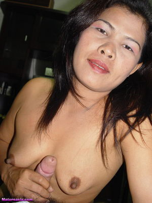 Chunky Mature Asian Slut Loves getting..