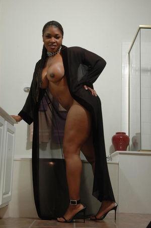 BDSM Fetish Naked Black Woman Sex Slave