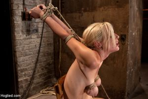 Two slaves bizarre pussy punishments..