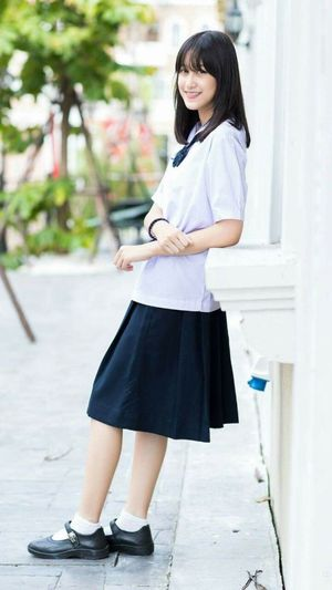 Jeen Thai High school girl asian..