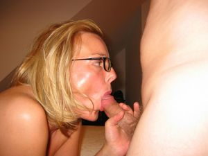 Badass hard mature blow job! amateur!..