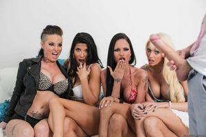 Christy Mack and her friends sharing..
