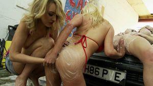 Lesbian Car Wash Streaming Video On..