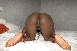 Ebony Slave Chained Up upskirtporn