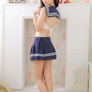 Adult Cosplay School Girl Student..