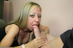 Milf Marilyn Sucks Off God-Son Joey at..