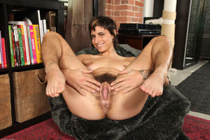 Hairy Girl Monica getting naked