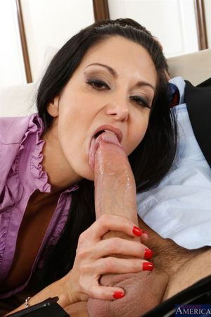 Ava Addams and Bridgette B share..