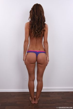 Eva, the wonderful brunette with long..