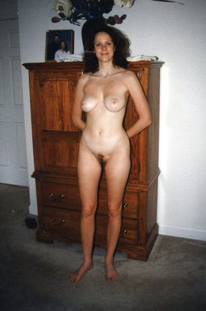 Naked polaroids of my wife - Nude..