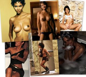 Halle Berry Nude Photos Exhibited..