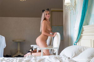 Kesha Naked in Heels