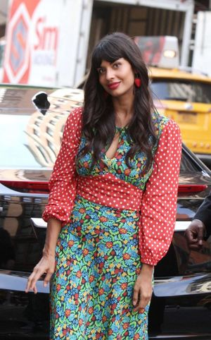 Jameela Jamil at Build Series in New..