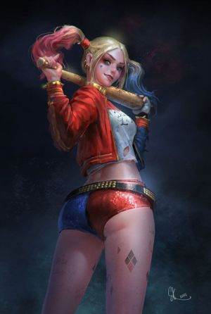 49 Hottest Harley Quinn Big Butt..