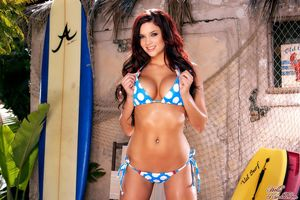 Jayden Cole Stripping Her Bikini..